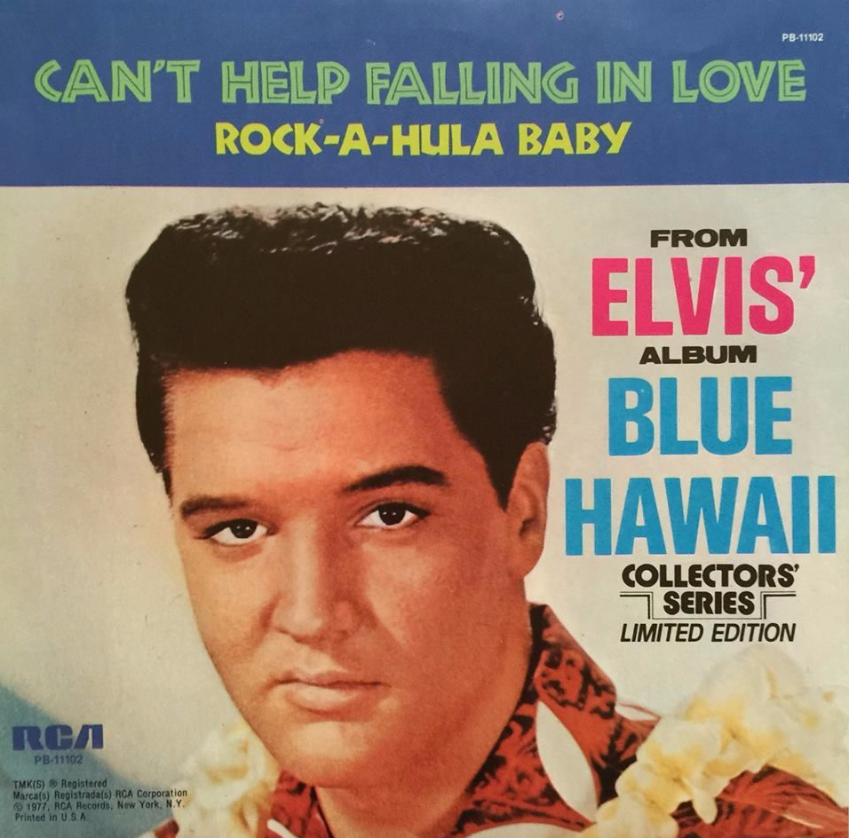 I Can T Help Falling In Love With You Elvis Presley Az