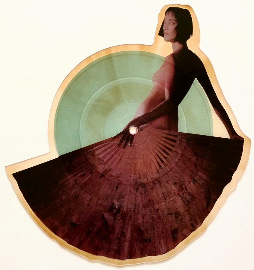 Malcolm Mclaren Madam Butterfly 7 Shaped Picture Disc G Nm
