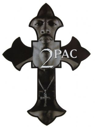 2Pac - Cross (Sticker)