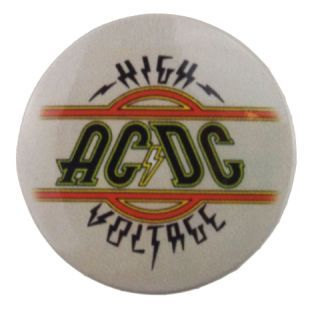 AC/DC - High Voltage (38mm Button Badge)