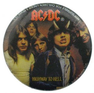 AC/DC - Highway To Hell (25mm Button Badge)