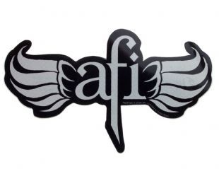 AFI - Wings Logo (Sticker)