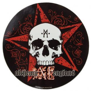 Alchemy England - Skull & Star (Sticker)