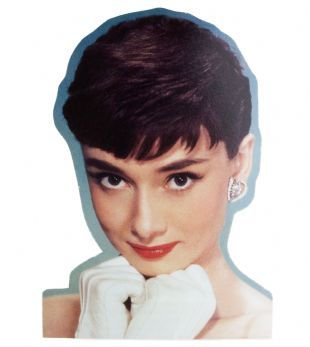Audrey Hepburn - Colour Portrait (Sticker)