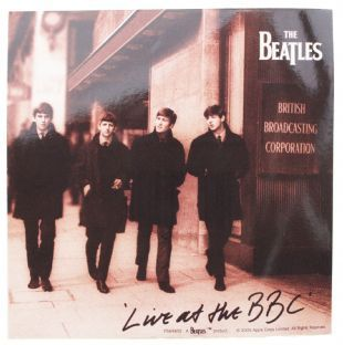 Beatles (The) - Live At The BBC (Sticker)