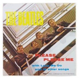 Beatles (The) - Please Please Me Album Cover (Sticker)