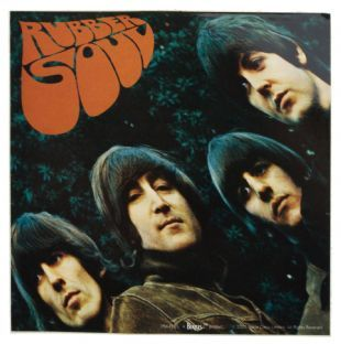 Beatles (The) - Rubber Soul Album Cover (Sticker)
