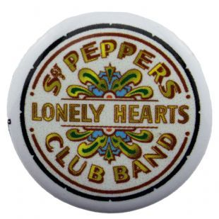 Beatles (The) - Sgt Pepper's Lonely Hearts Club Band (25mm Button Badge)