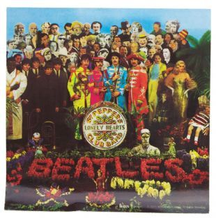 Beatles (The) - Sgt Pepper's Lonely Hearts Club Band Album Cover (Sticker)