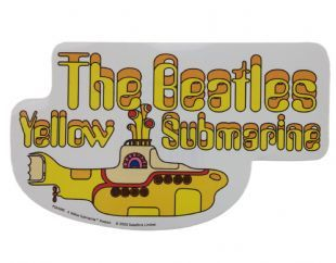 Beatles (The) - Yellow Submarine Logo (Sticker)