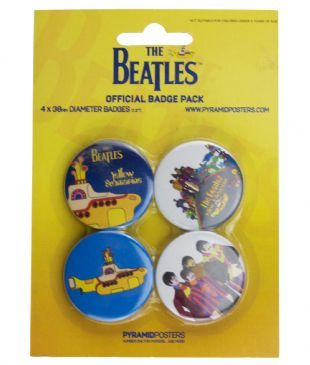 Beatles (The): Yellow Submarine - Official Button Badge Pack