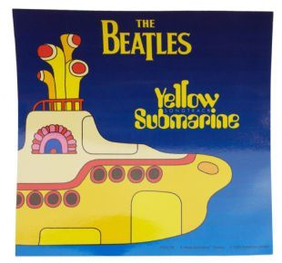 Beatles (The) - Yellow Submarine (Sticker)
