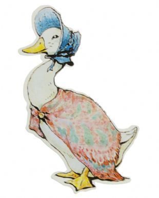 Beatrix Potter - Jemima Puddle-Duck (Sticker)