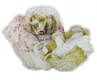 Beatrix Potter - Mrs Tiggy (Sticker)