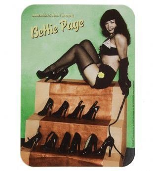 Bettie Page - America's No. 1 Model (Sticker)