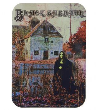 Black Sabbath - Black Sabbath Album Cover Art (Sticker)