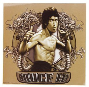 Bruce Lee - Logo (Sticker)