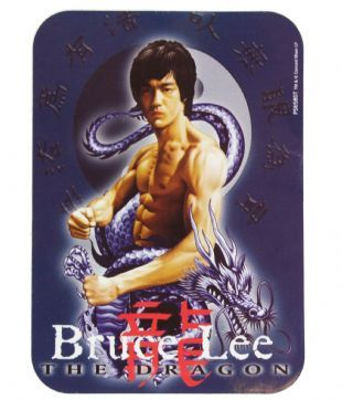 Bruce Lee - The Dragon (Sticker)