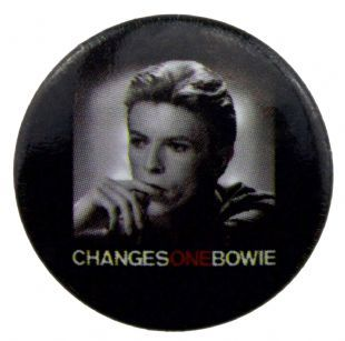 David Bowie - ChangesOneBowie (25mm Button Badge)