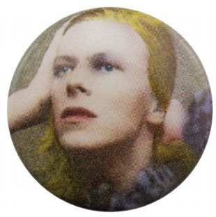 David Bowie - Hunky Dory (25mm Button Badge)