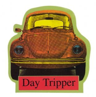 Day Tripper - Volkswagen Beetle (Sticker)