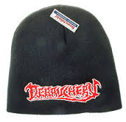 DEBAUCHERY EMBROIDERED LOGO - BLACK BEANIE HAT (Adult) (Brand New With Tag)