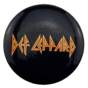 Def Leppard - Band Logo (25mm Button Badge)