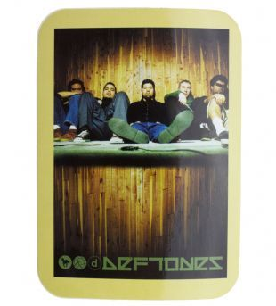 Deftones - Band Shot & Logo (Sticker)