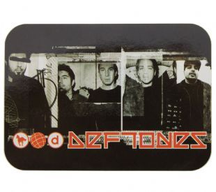 Deftones - Black & White Band Shots/Logo (Sticker)