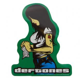 Deftones - Tattoo Girl Logo (Sticker)