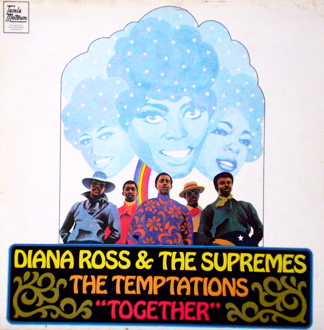 Diana Ross Amp The Supremes Amp The Temptations Together Lp Vg G