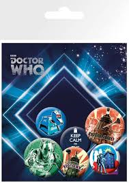 Doctor Who - Badge Set