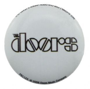 Doors (The) - Classic Logo (25mm Button Badge)