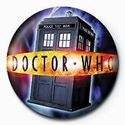 Dr Who - Tardis - (25mm Button Badge)