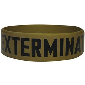 Exterminate - Rubber Wristband