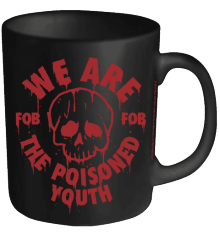Fall Out Boy: We Are The Poisoned Youth - MUG (11oz) (Brand New In Box)