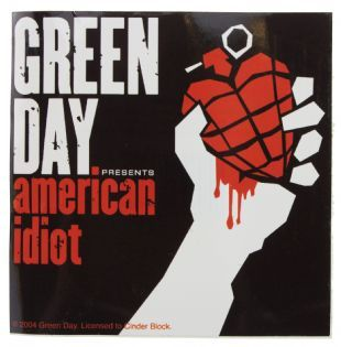 Green Day - American Idiot Album Cover (Sticker)