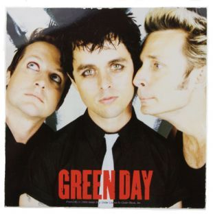 Green Day - American Idiot Band Shot (Sticker)