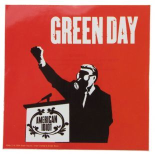 Green Day - American Idiot Speech (Sticker)