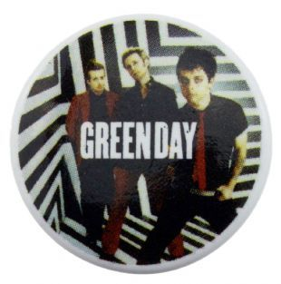 Green Day - Band Shot (25mm Button Badge)