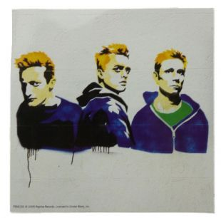 Green Day - Graffiti Portrait (Sticker)