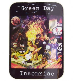 Green Day - Insomniac (Sticker)