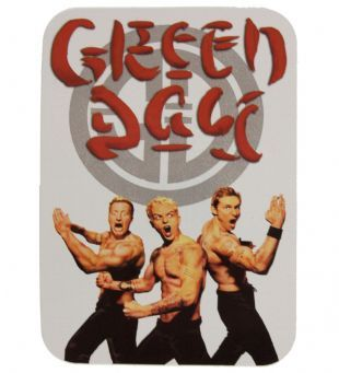 Green Day - Kung Fu Logo (Sticker)