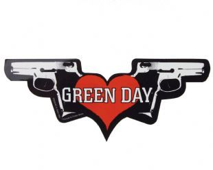 Green Day - Pistols Logo (Sticker)
