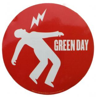 Green Day - Shock Logo (Sticker)
