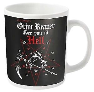Grim Reaper: See You In Hell - MUG (11oz) (Brand New In Box)