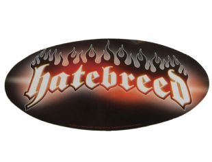 Hatebreed - Classic Flame Logo (Sticker)