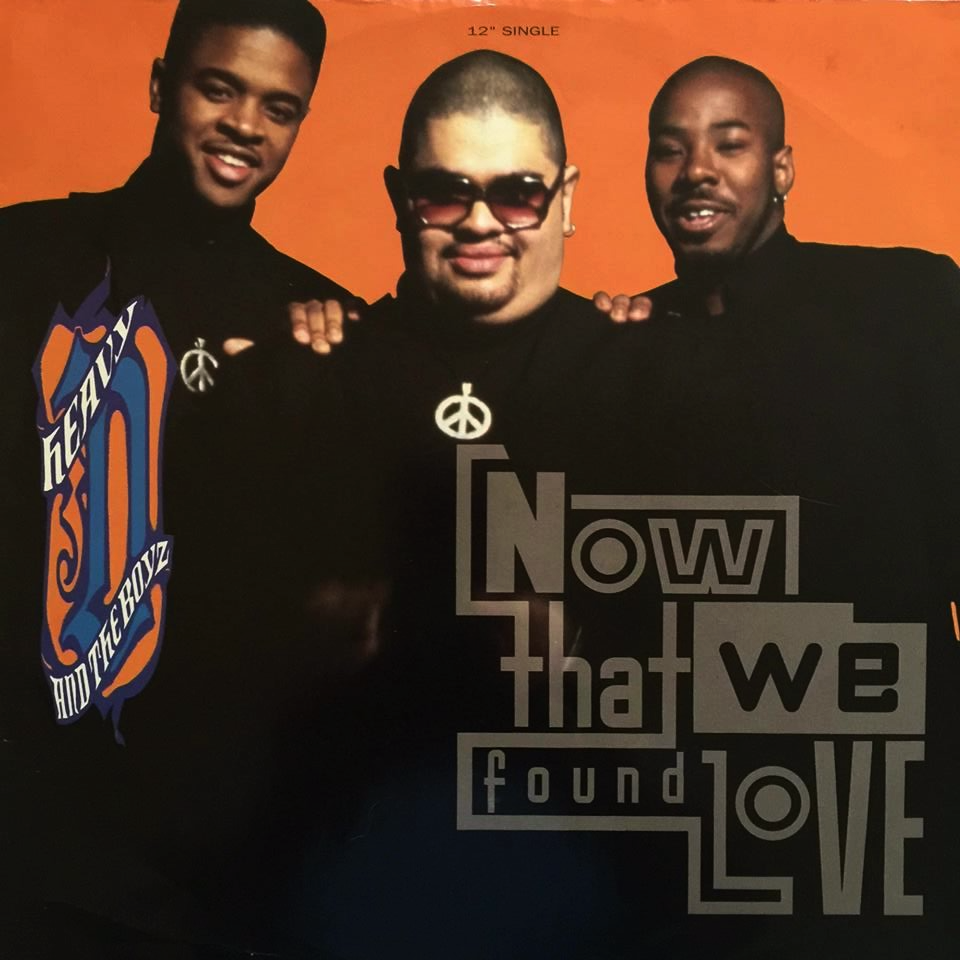 Heavy D Amp The Boyz Now That We Found Love 12 Promo G G