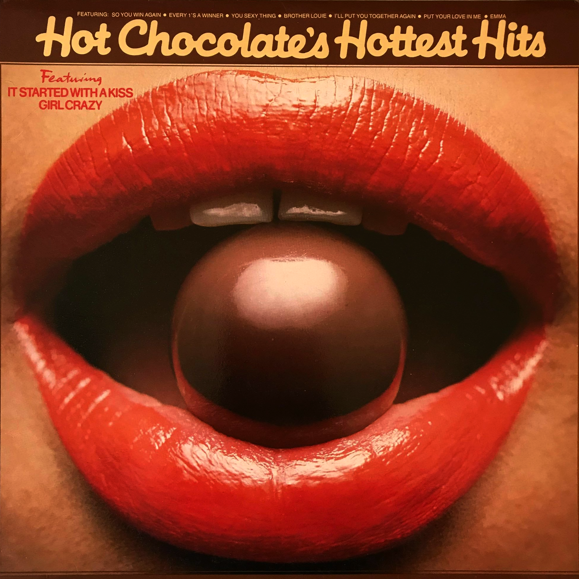 Hot Chocolate Hot Chocolates Hottest Hits Lp Vgvg