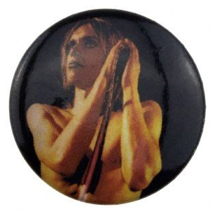 Iggy Pop - Classic Live Shot (25mm Button Badge)